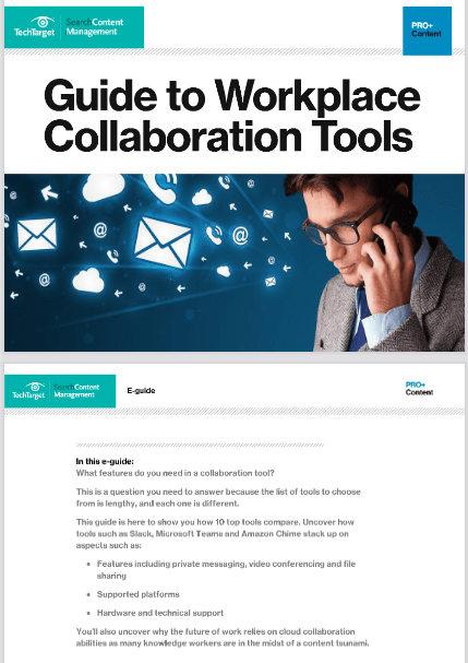 Guide To Workplace Collaboration Tools -TechProspect Guide To Workplace Collaboration Tools -TechProspect