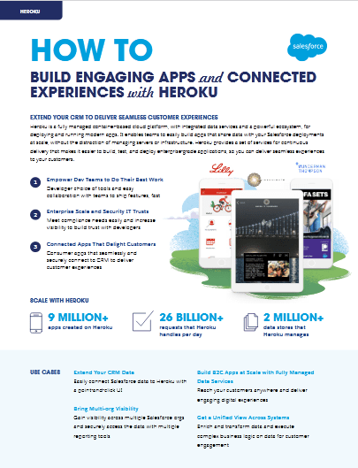 How To build Engaging Apps and Connected Experiences With Heroku -TechProspect How To build Engaging Apps and Connected Experiences With Heroku -TechProspect