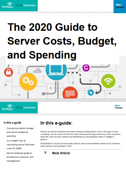 The 2020 Guide to Server Costs, Budget, and Spending -TechProspect The 2020 Guide to Server Costs, Budget, and Spending -TechProspect