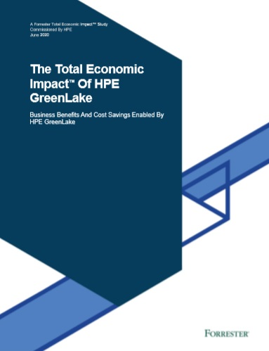 The Total Economic ImpactTM Of HPE GreenLake -TechProspect The Total Economic ImpactTM Of HPE GreenLake -TechProspect