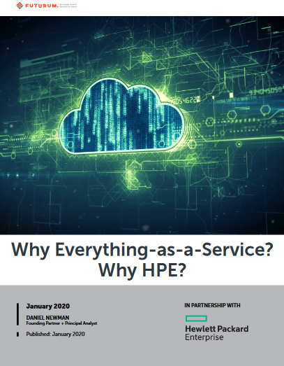 Why Everything-as-a-Service? Why HPE? -TechProspect Why Everything-as-a-Service? Why HPE? -TechProspect