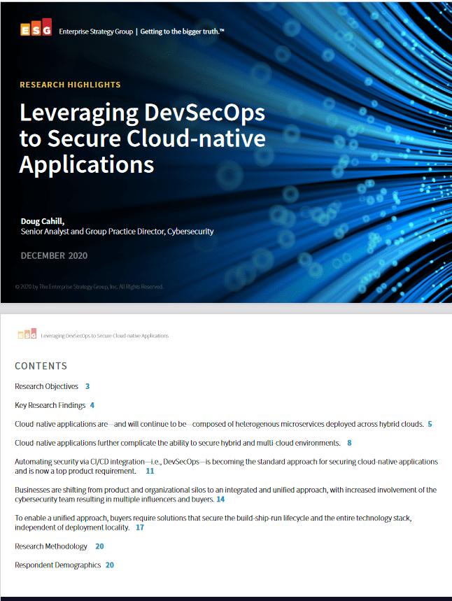 Leveraging DevSecOps to Secure Cloud-native Applications -TechProspect Leveraging DevSecOps to Secure Cloud-native Applications -TechProspect
