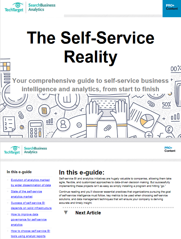 The Self Service Reality -TechProspect The Self Service Reality -TechProspect