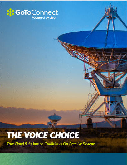 The Voice Choice: True Cloud Solutions vs Traditional On Premise Systems -TechProspect The Voice Choice: True Cloud Solutions vs Traditional On Premise Systems -TechProspect