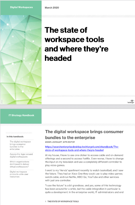The State of Workspace Tools and Where They are Headed -TechProspect The State of Workspace Tools and Where They are Headed -TechProspect