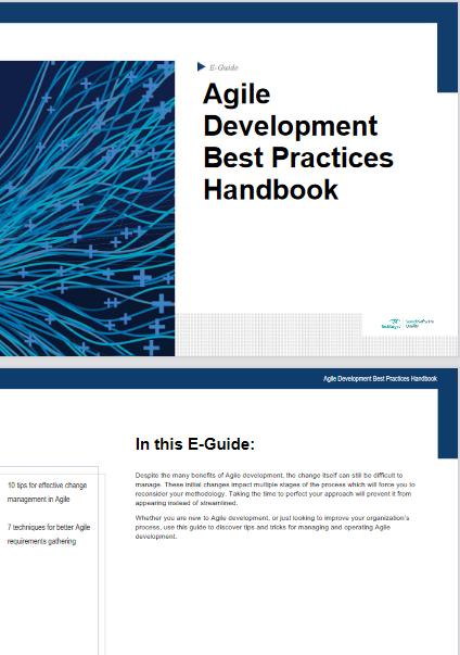 Agile Development Best Practices Handbook -TechProspect Agile Development Best Practices Handbook -TechProspect