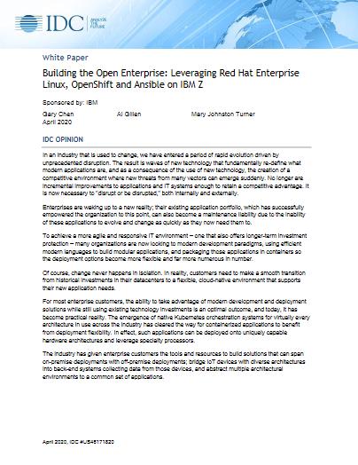 Building the Open Enterprise -TechProspect Building the Open Enterprise -TechProspect