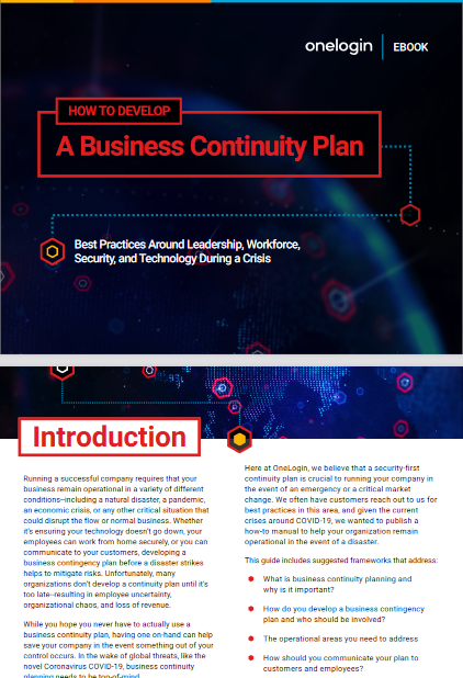 How To Develop A Business Continuity Plan -TechProspect How To Develop A Business Continuity Plan -TechProspect