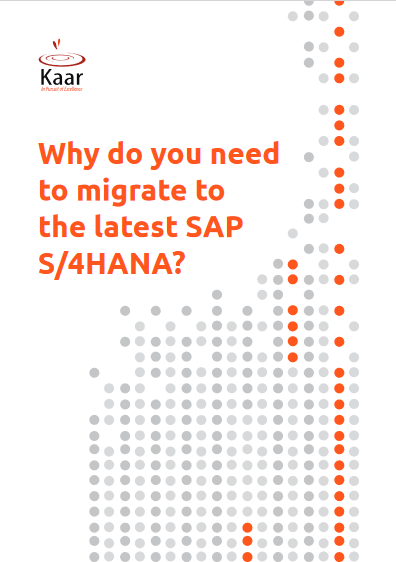Why Do You Need to Migrate to The Latest SAP S/4HANA? -TechProspect Why Do You Need to Migrate to The Latest SAP S/4HANA? -TechProspect