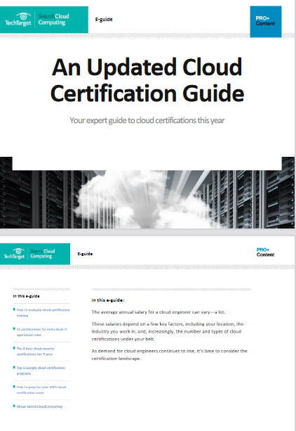 An Updated Cloud Certification Guide -TechProspect An Updated Cloud Certification Guide -TechProspect