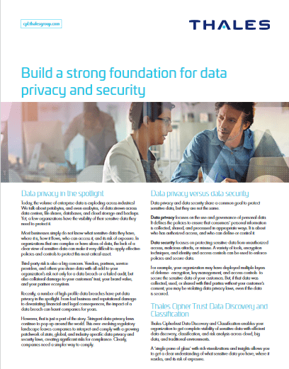 Build a Strong Foundation For Data Privacy and Security -TechProspect Build a Strong Foundation For Data Privacy and Security -TechProspect