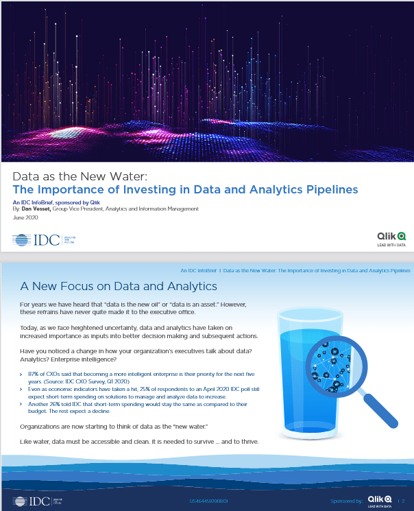 Data as the New Water: The Importance of Investing in Data and Analytics Pipelines -TechProspect Data as the New Water: The Importance of Investing in Data and Analytics Pipelines -TechProspect