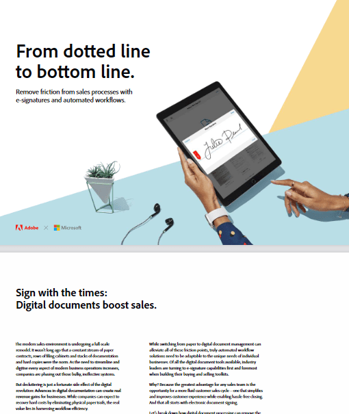 From Dotted Line to Bottom Line -TechProspect From Dotted Line to Bottom Line -TechProspect