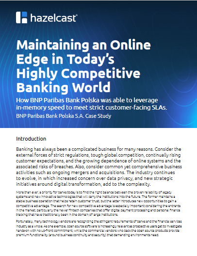 Maintaining an Online Edge in Today's Highly Competitive Banking World -TechProspect Maintaining an Online Edge in Today's Highly Competitive Banking World -TechProspect