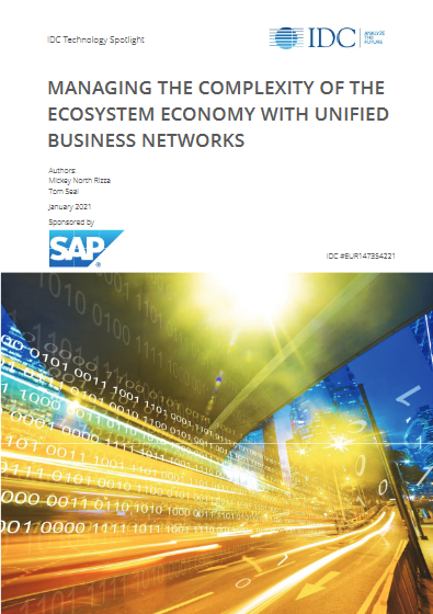 Managing The Complexity Of The Ecosystem Economy With Unified Business Network -TechProspect Managing The Complexity Of The Ecosystem Economy With Unified Business Network -TechProspect