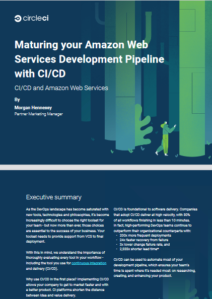 Maturing your Amazon Web Services Development Pipeline with CI/CD -TechProspect Maturing your Amazon Web Services Development Pipeline with CI/CD -TechProspect