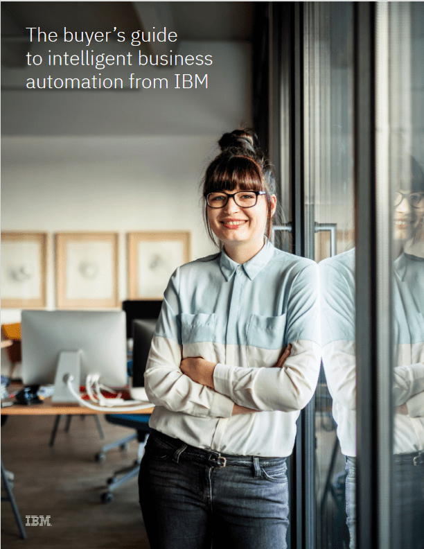 The Buyer's Guide  to Intelligent Business Automation From IBM -TechProspect The Buyer's Guide  to Intelligent Business Automation From IBM -TechProspect