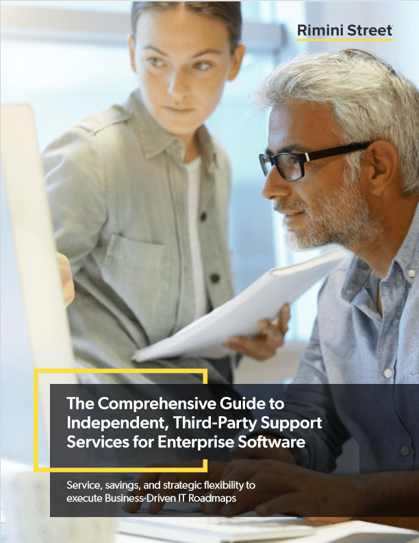 The Comprehensive Guide to Independent Third Party Support Services for Enterprise Software -TechProspect The Comprehensive Guide to Independent Third Party Support Services for Enterprise Software -TechProspect