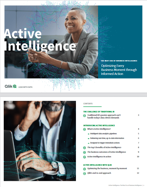 The Next Era of Business Intelligence: Optimizing Every Business Moment Through Informed Action -TechProspect The Next Era of Business Intelligence: Optimizing Every Business Moment Through Informed Action -TechProspect