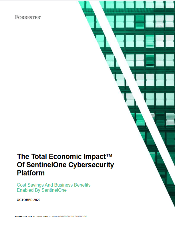 The Total Economic Impact™ Of SentinelOne Cybersecurity Platform -TechProspect The Total Economic Impact™ Of SentinelOne Cybersecurity Platform -TechProspect