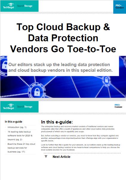 Top Cloud Backup & Data Protection Vendors Go Toe-to-Toe -TechProspect Top Cloud Backup & Data Protection Vendors Go Toe-to-Toe -TechProspect