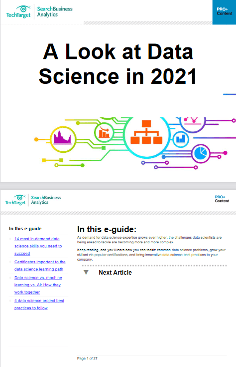 A Look at Data Science in 2021 -TechProspect A Look at Data Science in 2021 -TechProspect