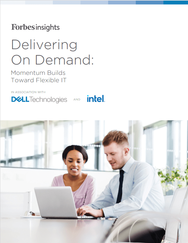 Delivering On Demand: Momentum Builds Toward Flexible IT -TechProspect Delivering On Demand: Momentum Builds Toward Flexible IT -TechProspect