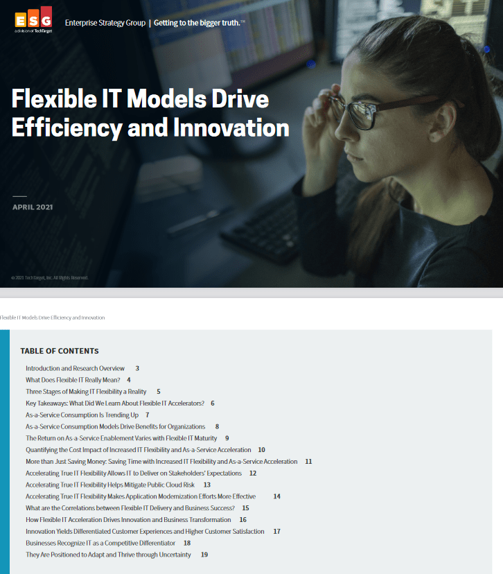 Flexible IT Models Drive Efficiency and Innovation -TechProspect Flexible IT Models Drive Efficiency and Innovation -TechProspect