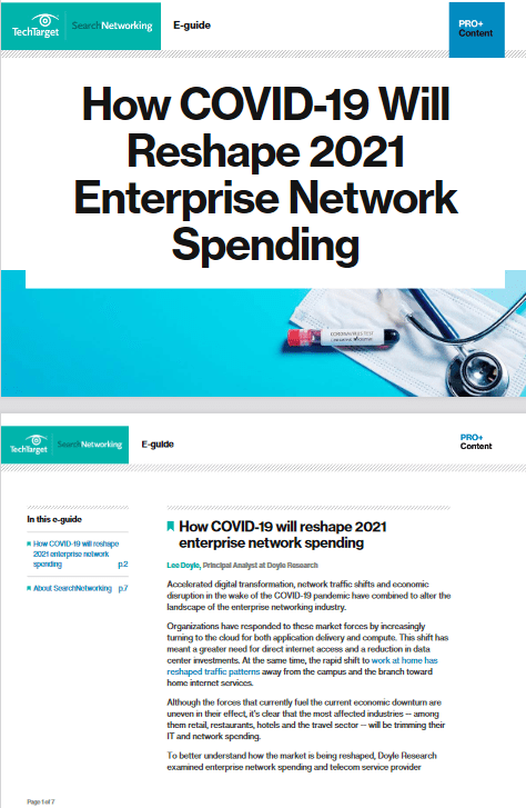 How COVID-19 Will Reshape 2021 Enterprise Network Spending -TechProspect How COVID-19 Will Reshape 2021 Enterprise Network Spending -TechProspect