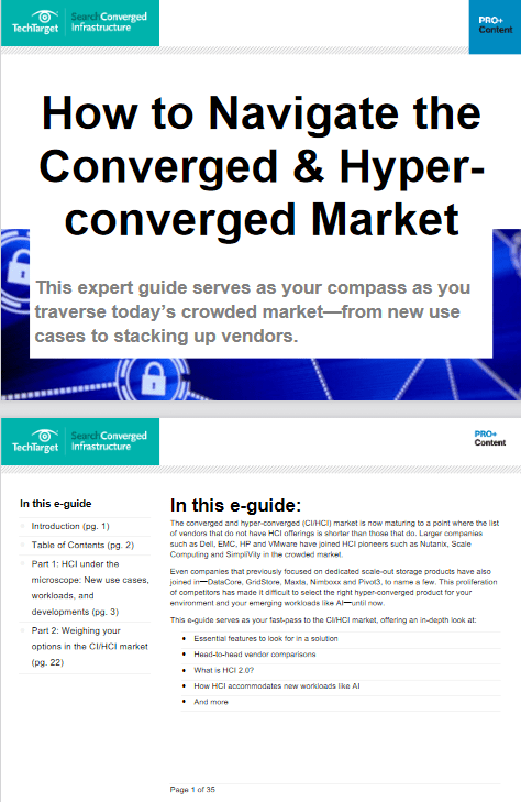 How to Navigate the Converged and Hyperconverged Market -TechProspect How to Navigate the Converged and Hyperconverged Market -TechProspect