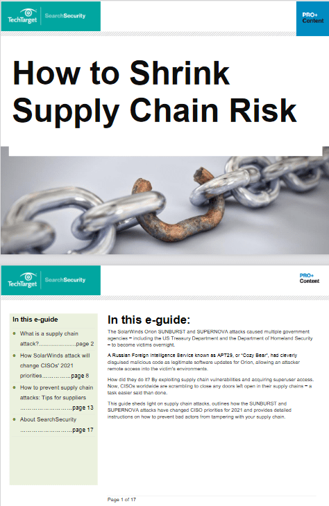 How to Shrink Supply Chain Risk -TechProspect How to Shrink Supply Chain Risk -TechProspect