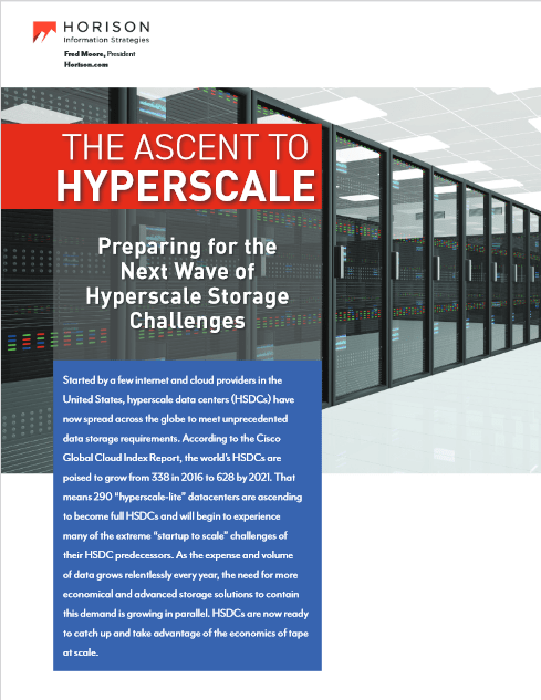 Preparing for the Next Wave of Hyperscale Storage Challenges -TechProspect Preparing for the Next Wave of Hyperscale Storage Challenges -TechProspect