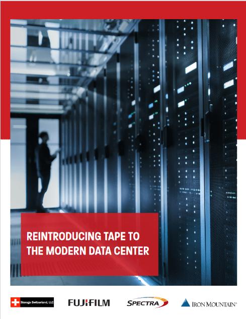 Reintroducing Tape to the Modern Data Center -TechProspect