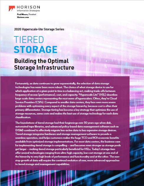 Tiered Storage Building the Optimal Storage Infrastructure -TechProspect Tiered Storage Building the Optimal Storage Infrastructure -TechProspect