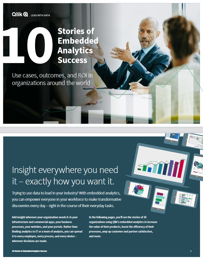 10 Stories of Embedded Analytics Success -TechProspect 10 Stories of Embedded Analytics Success -TechProspect