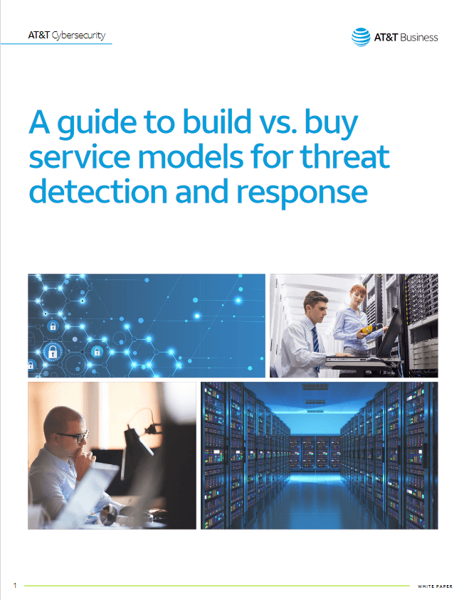A Guide to Build Vs. Buy Service Models for Threat Detection and Response -TechProspect A Guide to Build Vs. Buy Service Models for Threat Detection and Response -TechProspect