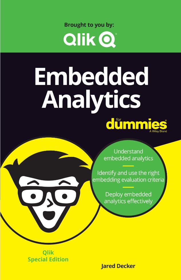 Embedded Analytics for Dummies -TechProspect Embedded Analytics for Dummies -TechProspect