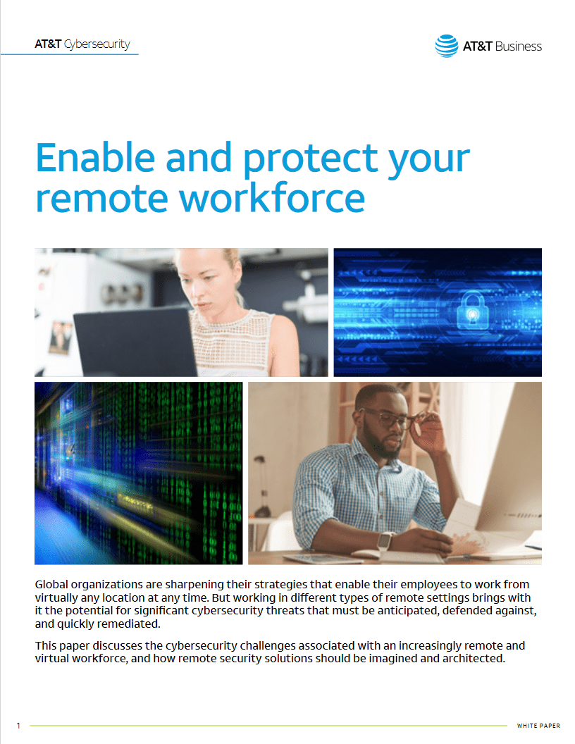 Enable and Protect Your Remote Workforce -TechProspect Enable and Protect Your Remote Workforce -TechProspect