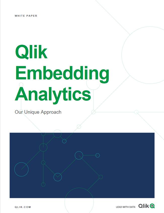 Qlik Embedding Analytics -TechProspect Qlik Embedding Analytics -TechProspect