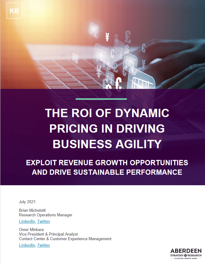 The ROI of Dynamic Pricing in Driving Business Agility -TechProspect The ROI of Dynamic Pricing in Driving Business Agility -TechProspect