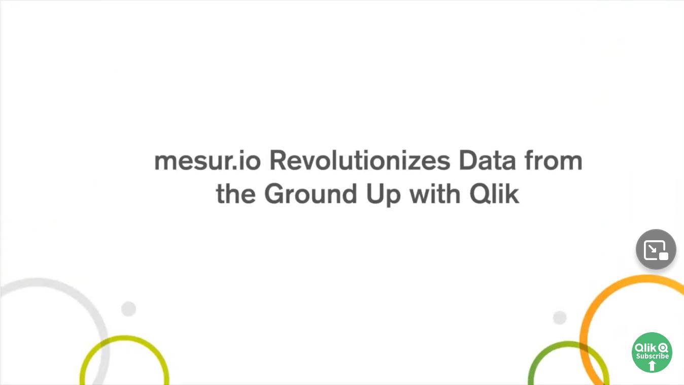 mesur.io Revolutionizes Data from the Ground Up with Qlik -TechProspect mesur.io Revolutionizes Data from the Ground Up with Qlik -TechProspect