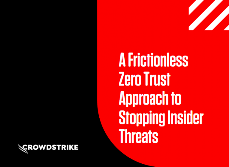 A Frictionless Zero Trust Approach to Stopping Insider Threat