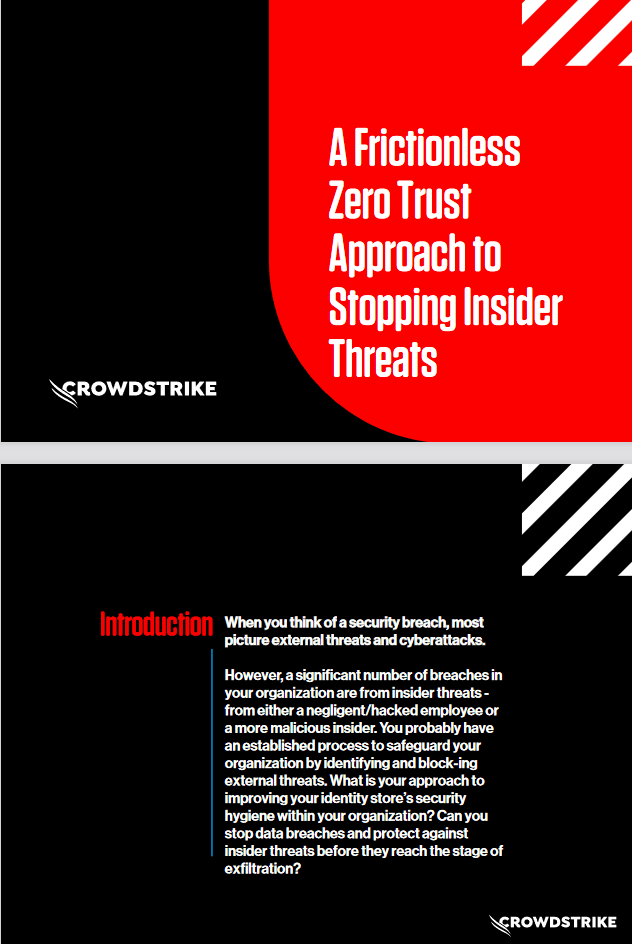 A Frictionless Zero Trust Approach to Stopping Insider Threat -TechProspect