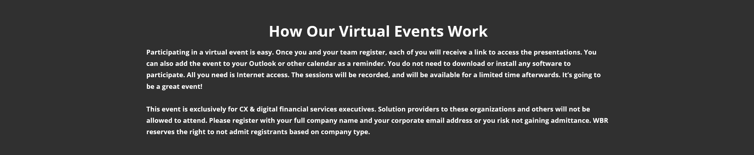 The Leading Invite-Only Virtual Event For Senior CX & Digital Financial Services Executives -TechProspect The Leading Invite-Only Virtual Event For Senior CX & Digital Financial Services Executives -TechProspect