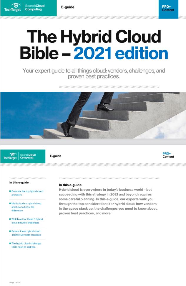 The Hybrid Cloud Bible – 2021 Edition -TechProspect The Hybrid Cloud Bible – 2021 Edition -TechProspect