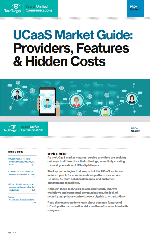 UCaaS Market Guide: Providers, Features and Hidden Costs -TechProspect UCaaS Market Guide: Providers, Features and Hidden Costs -TechProspect