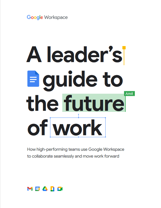 A Leader's Guide to The Future of Work -TechProspect A Leader's Guide to The Future of Work -TechProspect