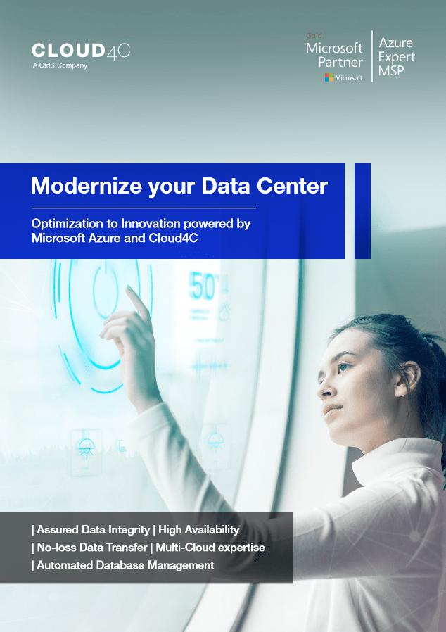 Modernize Your Data Center -TechProspect Modernize Your Data Center -TechProspect