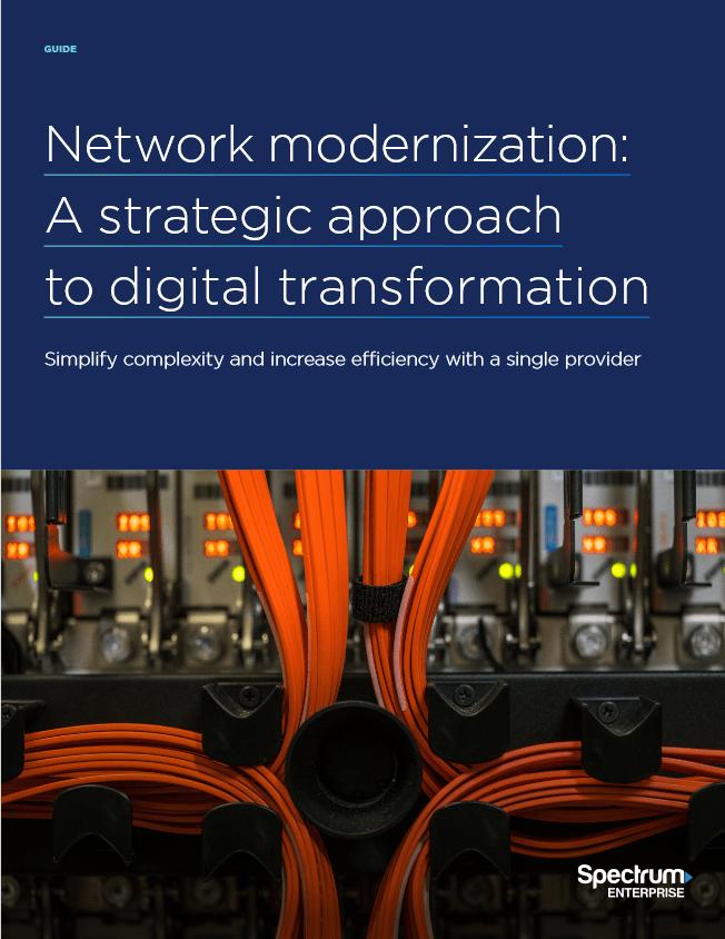 Network Modernization: A Strategic Approach to Digital Transformation -TechProspect Network Modernization: A Strategic Approach to Digital Transformation -TechProspect