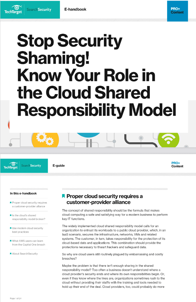 Stop Security Shaming! Know Your Role in the Cloud Shared Responsibility Model -TechProspect Stop Security Shaming! Know Your Role in the Cloud Shared Responsibility Model -TechProspect